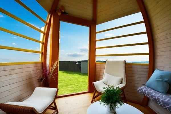 Crown Smart Wooden Pods - Interior View