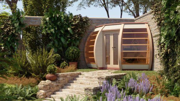 Crown Compact Wooden Garden Structures