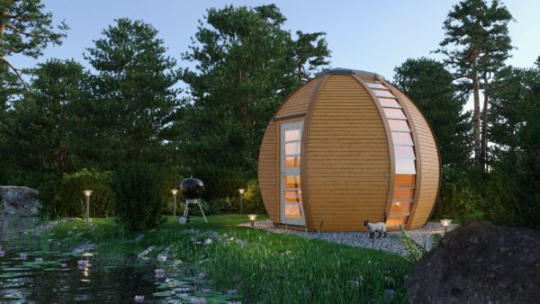 Wooden Garden Lodges by HUUDEN UK