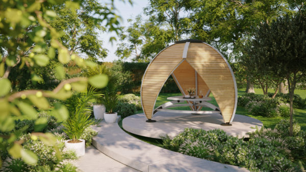Outdoor Seating Pods - Crown Shield Leisure