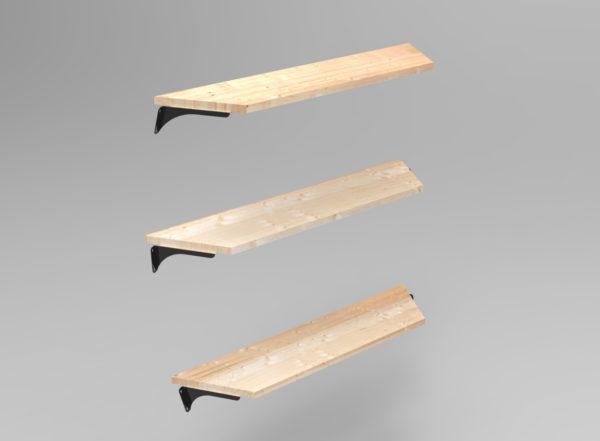 Shelves for HUUDEN Crown Range of Garden Pod Houses