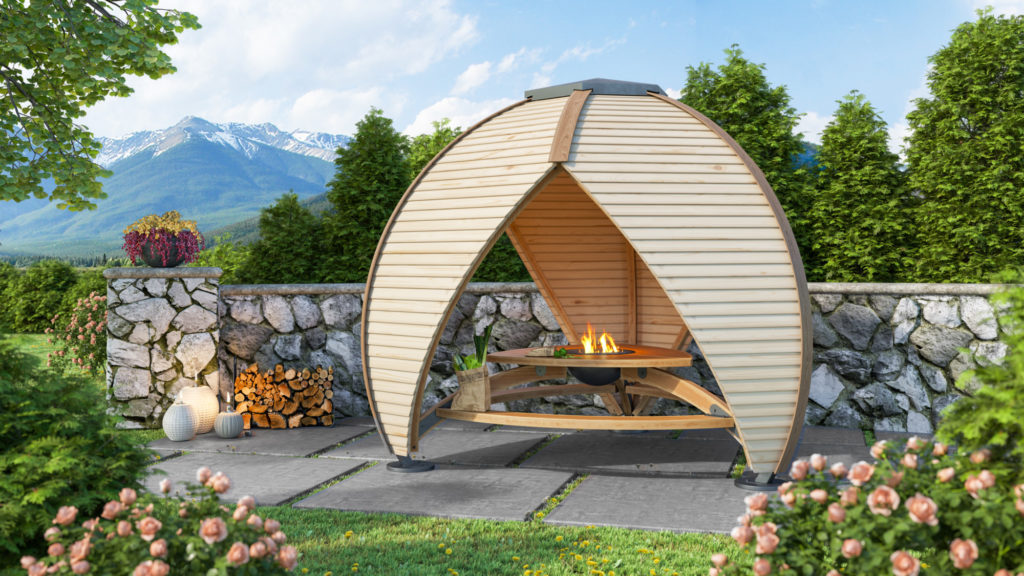 Crown Shield Fire - Outdoor Area Cover