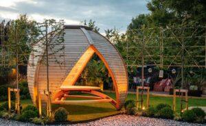 Crown Shield Leisure Garden Canopy - Unique Garden Seating Areas