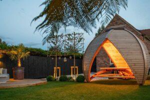 Wooden Garden Canopy Shelter